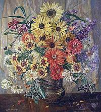 Gwen Whicker (1900-1966) September Profusion,