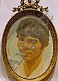 Henry Robertson Craig (1916-1984) 3 Oval portraits, Harry Robertson Craig, Click for value