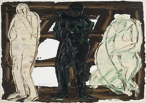 Herbert Kallem - 'Three Nudes'