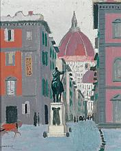 Maurice Denis - Florence with a View of the Duomo, 1907