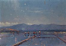 Leonardus Joseph Eland - Working in the Fields