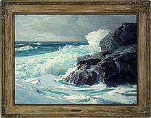 Fredrick Judd Waugh - Pounding Surf