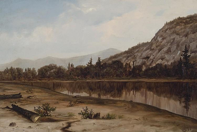William Bliss  Baker Oil on canvas