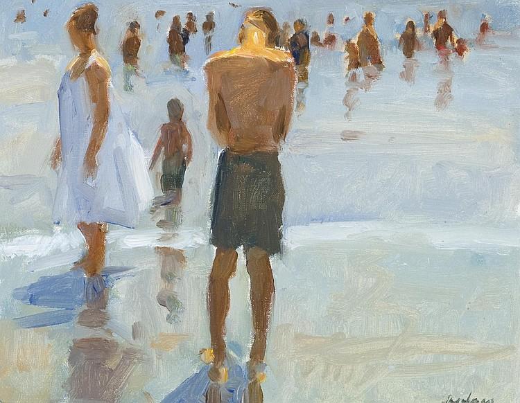 Richard Segalman Oil on canvas