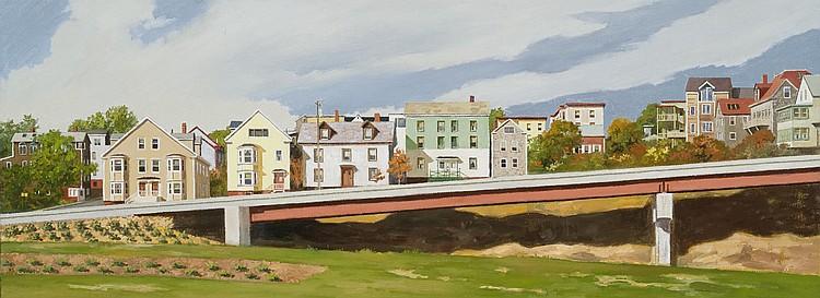 Robert Solotaire Oil on canvas