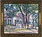 Lillian Burk Meeser Oil on canvasboard, Lillian Burk Meeser, Click for value