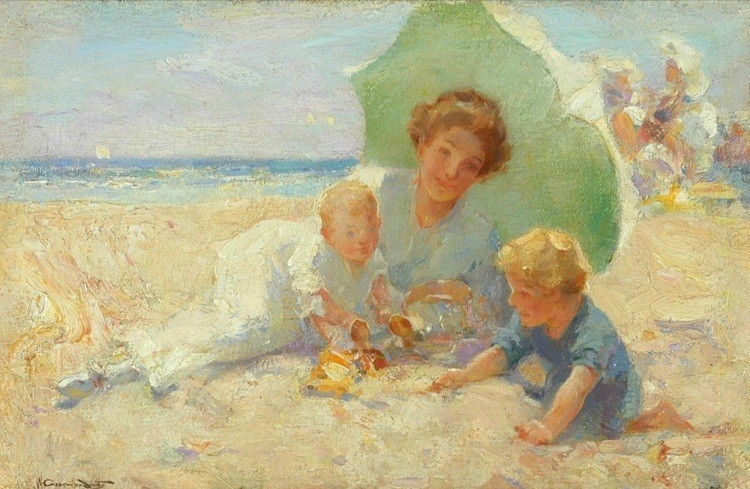 WALTER GRANVILLE SMITH Am. 1870-1938