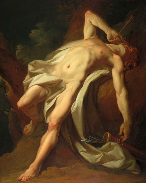 NICHOLAS GUY BRENET Fr. 1728 -1792