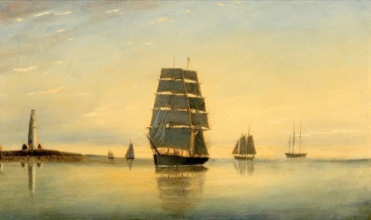 CLEMENT DREW Am. 1806 -1889