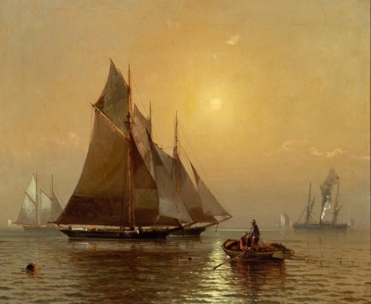 FRANKLIN DULLIN BRISCOE Am. 1844 -1903
