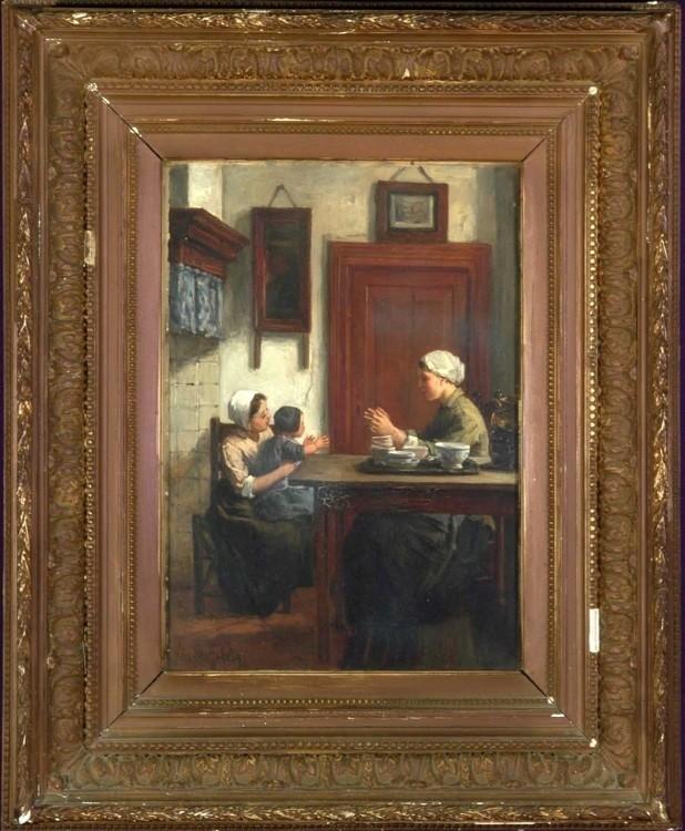 NICOLAAS STEFFELAAR Dutch 1852-1918