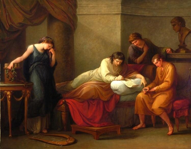 ANGELICA KAUFFMAN Swiss 1741-1807