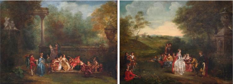 School of Jean-Antoine Watteau