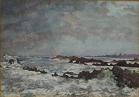 Alan Ian Ronald, RSW, (1899-1967): a watercolour