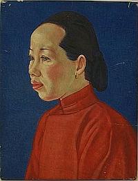 Joan Ayling (Mrs Rees 1907-1993): portrait of