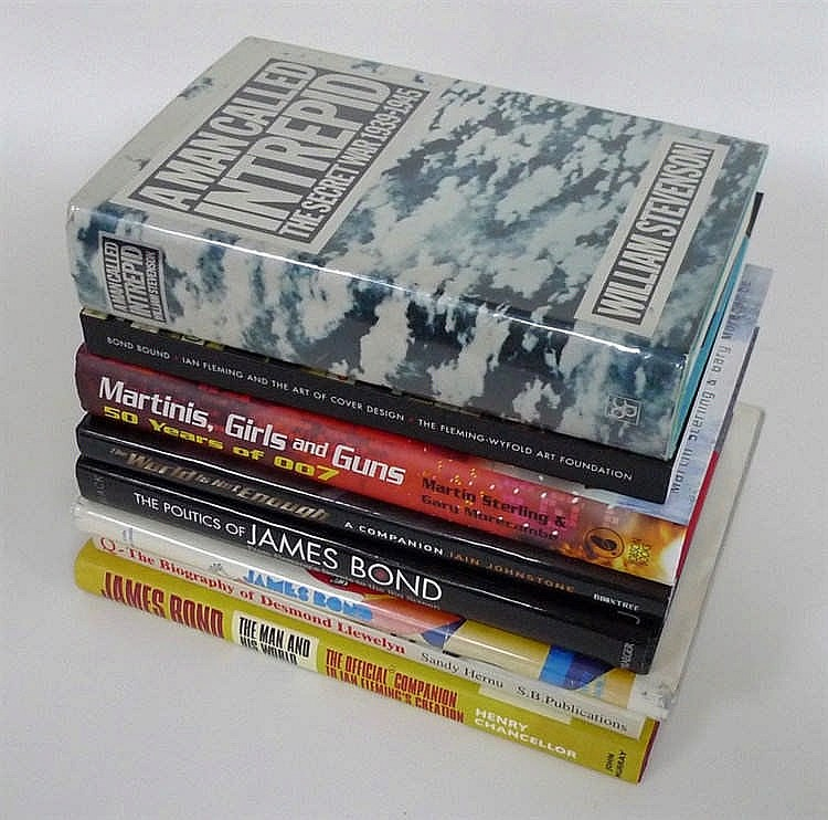 A Group Of James Bond Reference And Coffee Table Books Incl