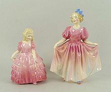 A Royal Doulton porcelain figure modelled as