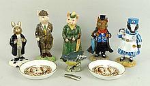A quantity of ceramics, comprising; Beswick The