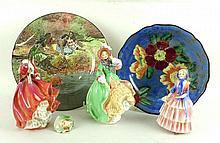 A Royal Doulton porcelain figure modelled as Biddy