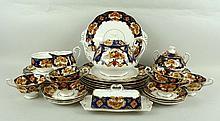 A Royal Albert porcelain part dinner and tea