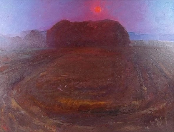 Violet Fuller (British, 1920-2008 ): Sunset at Aye