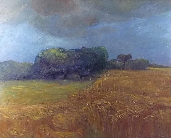 Violet Fuller (British, 1920-2008): Landscape depi