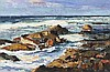 Anthony Walton ( South African, b.1942): a seascape, oil on canvas board, s, Anthony Walton, Click for value