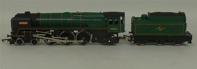 A collection of Hornby Railways OO gauge comprising BR loco