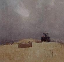 Stephen Brown (British b.1947): Pastoral I and Pastoral II, a pair of gicle
