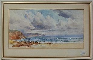 Allan Barraud (British, 1847-1913): a watercolour