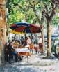 ARTIST: Elena Bond TITLE: The Café Where We Met, Elena Bond, Click for value