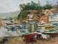 ARTIST: Elena Bond TITLE: Mediterranean Port Village, Elena Bond, Click for value