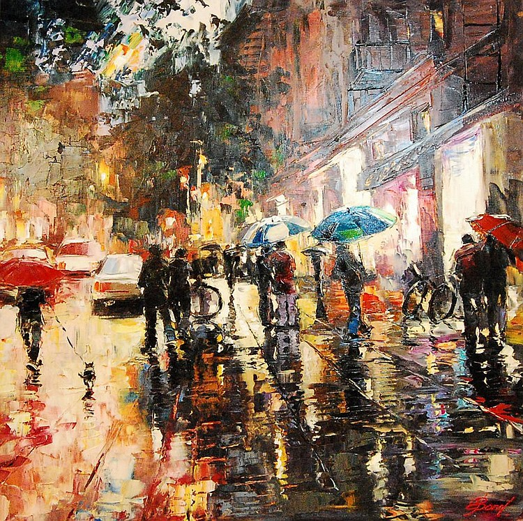 Elena Bond: Rainy Saturday Nite