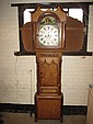 An 19th century long case clock by DANIEL BELLMAN
