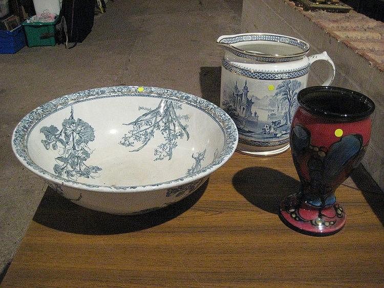A DANICO goblet shaped vase - 9¼