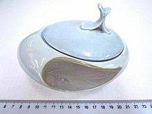 Porcelain sugar box, special design