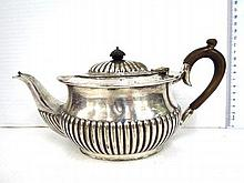 Small silver plated teapot