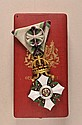 ORDERS AND DECORATIONS: Bulgaria: Civil-Merit Order, 1. model, 4. class, with box.
