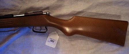 A Manuarm 9mm bolt action garden gun Serial