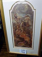 JOY KIRTON SMITH Hand Signed Gold Leaf Art Giclee GRACE II