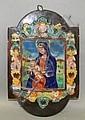 Daniel Zuloaga decorated wall plaque, Daniel Zuloaga, Click for value