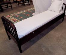 Ca. 1920s Day Bed With Pillow
