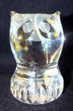 Spode Art Glass Owl