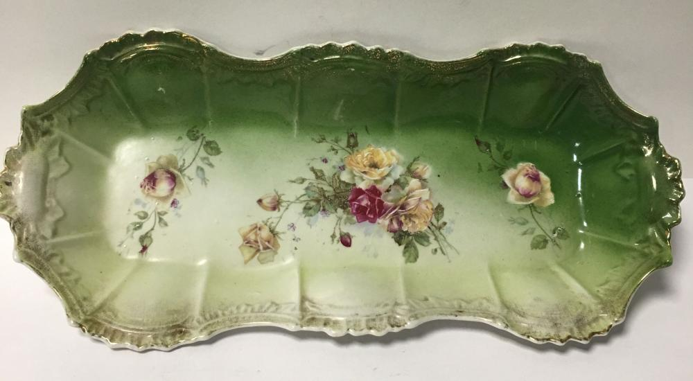 Floral Porcelain Tray