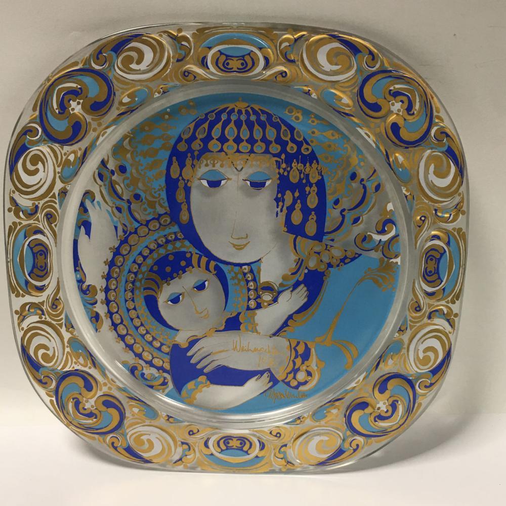 Rosenthal Studio Linie Wiinblad Christmas Plate