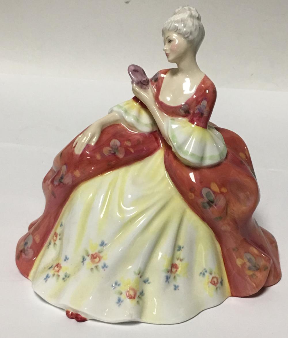 Royal Doulton Figurine, Wistful