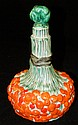 Hand painted porcelain decanter