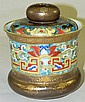 Hand painted Nippon jar with lid