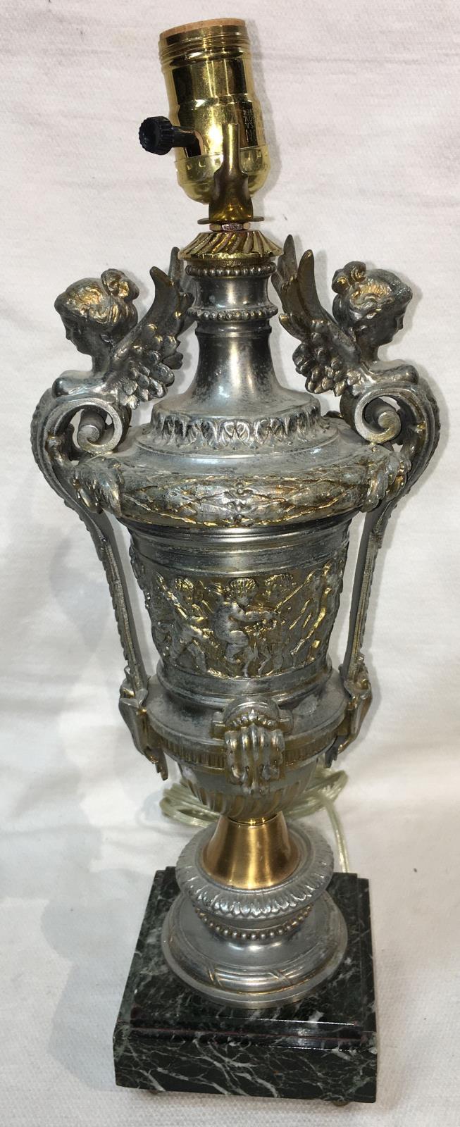 Vintage Porcelain Woman Figural Lamp : Stephen A. Kramer