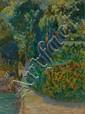 Artist signed oil painting, landscape